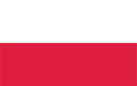 Free vector flag of Poland