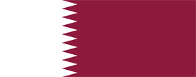 Free vector flag of Qatar