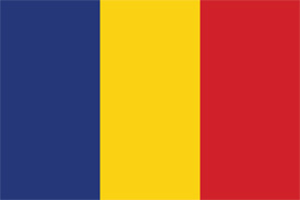Free vector flag of Romania