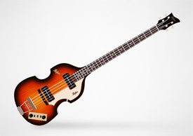 Hofner 500/1 Electric Bass Guitar Free Vector