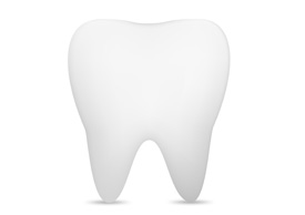 Gradient Mesh Tooth Free Vector Illustration