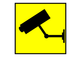 CCTV Camera Warning Sign