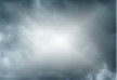 Storm Clouds With Sun Gradient Mesh Background