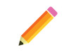 Flat Pencil Vector Icon