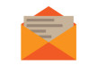 Open Letter Flat Icon