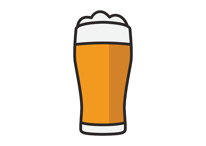 Flat Glass Of Beer
