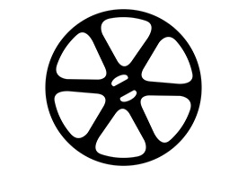 Black Film Reel