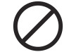 Black Vector Ban Icon
