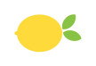 Flat Lemon Vector