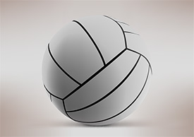 Free Volleyball Vector