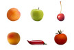 Semi Realistic Vector Fruits And Vegetables