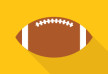 American Football Flat Icon