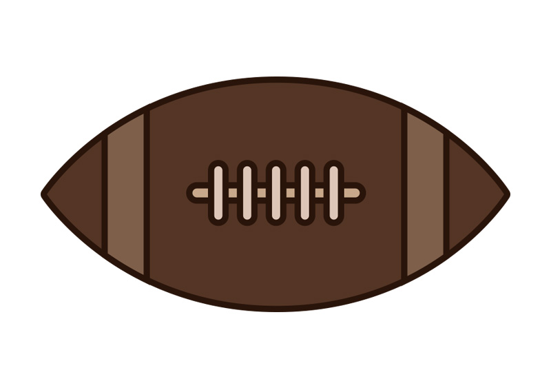 american football outline - photo #15