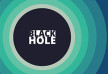 Black Hole Abstract Circles Background Design