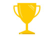 Free Vector Flat Trophy Illustration