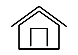 Home Outline Vector Icon