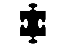 Puzzle Piece Vector Icon