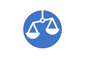 Scales Weight Flat Circle Icon