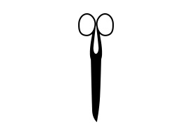 Scissors Vector Silhouette