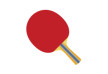 Table Tennis Ping Pong Flat Racket
