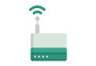 Wifi Router Free Flat Vector Icon
