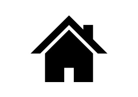 Black Simple Home Icon Free Vector