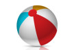 Colorful Beach Ball Free Vector
