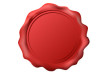 Free Vector Red Wax Seal