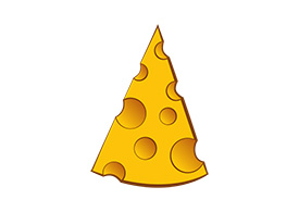 Piece Of Cheese Free Vector