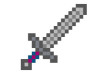 Pixel Art Sword Vector