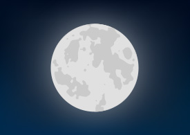 Vector Full Moon
