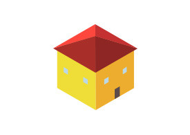 Isometric Vector House