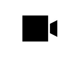 Simple Black Camera Icon