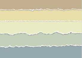 Torn Paper Vectors In Pastel Colors