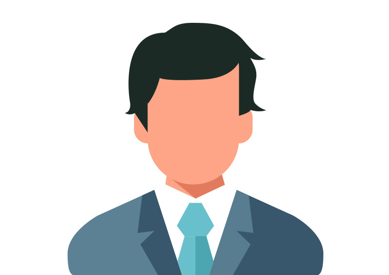 With suit flat vector icon businessman with suit flat vector icon publicscrutiny Gallery