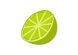 Flat Vector Lime