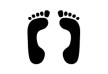 human-footprints-vector-thumb