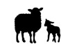 sheep-and-lamb-vector-silhouettes-thumb