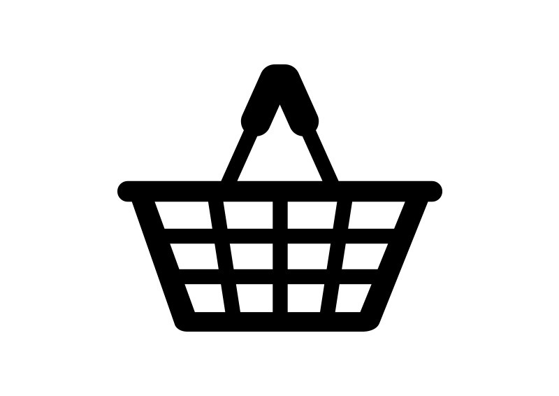 Vector Clipart Shopping Basket : Ping basket icon