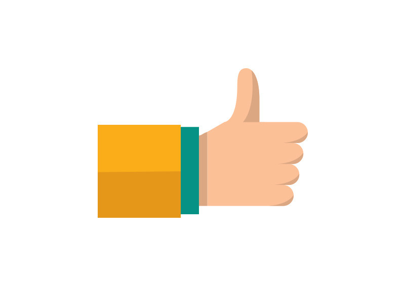 up flat vector icon rh superawesomevectors com thumbs up vector free thumbs up vector download