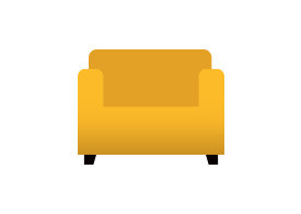 Couch Free Vector