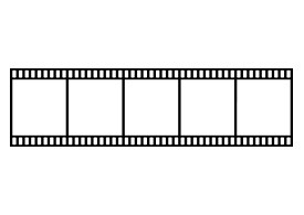 Film Strip With 5 Frames