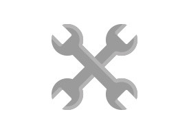 Crossed Wrenches Flat Icon