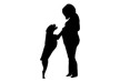 pregnant-woman-with-dog-silhouette-thumb