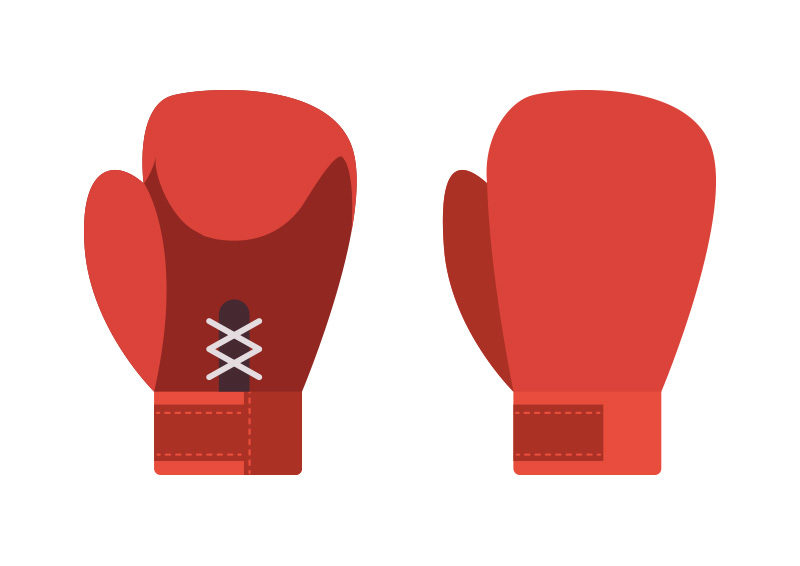 boxing gloves flat vector superawesomevectors rh superawesomevectors com boxing gloves vector art free boxing glove vector art