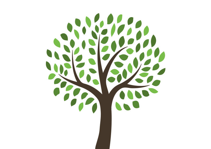 free vector tree illustration superawesomevectors rh superawesomevectors com free vector tree brush free vector tree images