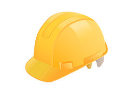 Yellow Construction Helmet Free Vector
