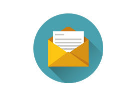 Letter Flat Vector Icon