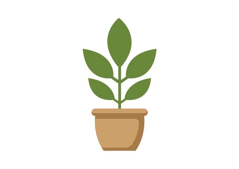potted plant flat vector superawesomevectors rh superawesomevectors com planet vectorworks plant vector free