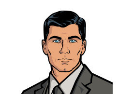 Sterling Archer Vector
